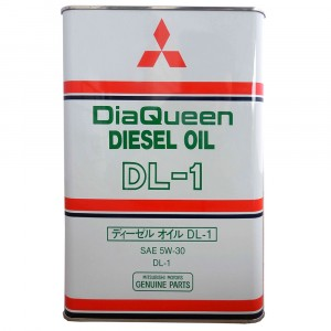 Моторное масло Mitsubishi DiaQueen Diesel DL-1 5W-30 (4 л)