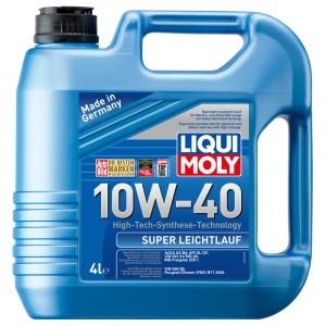 Моторное масло Liqui Moly Super Leichtlauf 10W-40 (4 л)