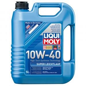 Моторное масло Liqui Moly Super Leichtlauf 10W-40 (5 л)