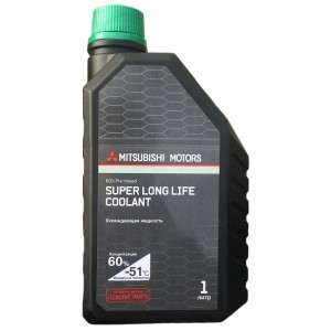Антифриз Mitsubishi Super Long Life Coolant, зеленый (1 л)