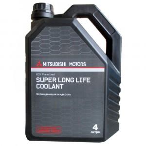 Антифриз Mitsubishi Super Long Life Coolant, зеленый (4 л)