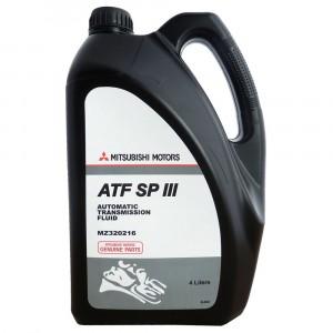Трансмиссионное масло Mitsubishi ATF SP-III - SGP (4 л)