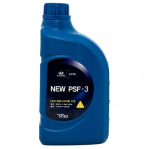 Жидкость ГУР Hyundai/Kia/Mobis NEW PSF-3 80W, красная (1 л)