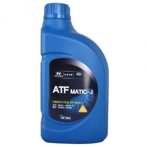Трансмиссионное масло Hyundai/Kia/Mobis ATF Matic-J Red-1 (1 л)