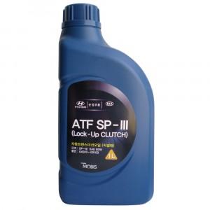Трансмиссионное масло Hyundai/Kia/Mobis ATF SP-III (1 л)