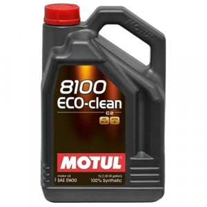 Моторное масло Motul 8100 Eco-clean 0W-30 (5 л)