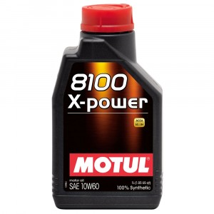 Моторное масло Motul 8100 X-power 10W-60 (1 л)