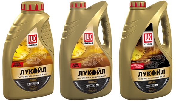 масла lukoil luxe